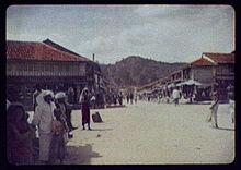 Colombo Street in Kandy, 1895